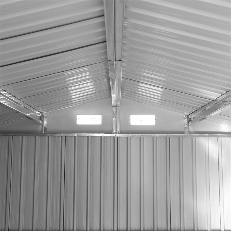 Metall-Gartenhaus-MGH-257x312x192cm-Gruen-Weiss-005.jpg