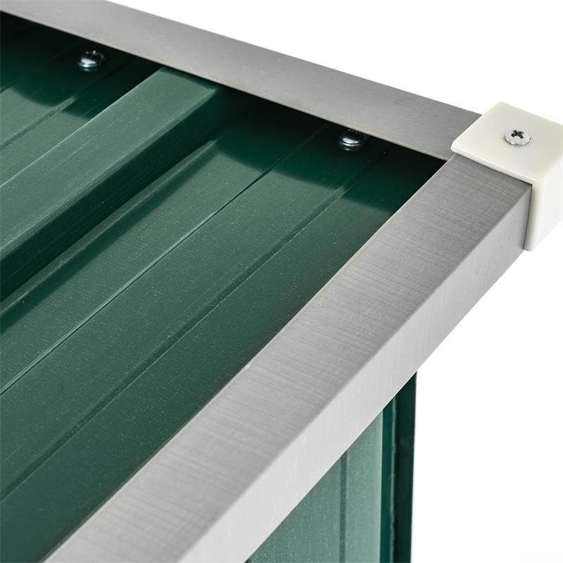 Metall-Holzunterstand-mit-Schraegdach-Trapetzblech-Gruen-RAL-6005-001005.jpg