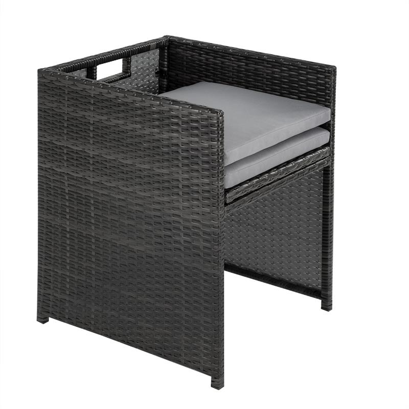rattan gartenst hle rattan klappbar 2er set. Black Bedroom Furniture Sets. Home Design Ideas