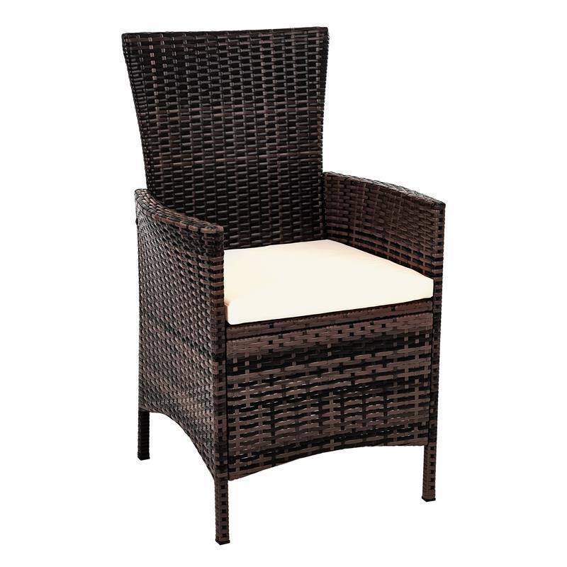 rattan gartenm bel set braun f r 8 personen. Black Bedroom Furniture Sets. Home Design Ideas
