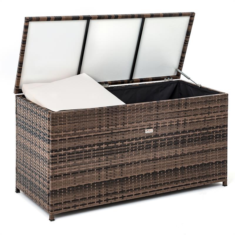 Super Polyrattan Auflagenbox 120 x 60 x 50 cm YX09