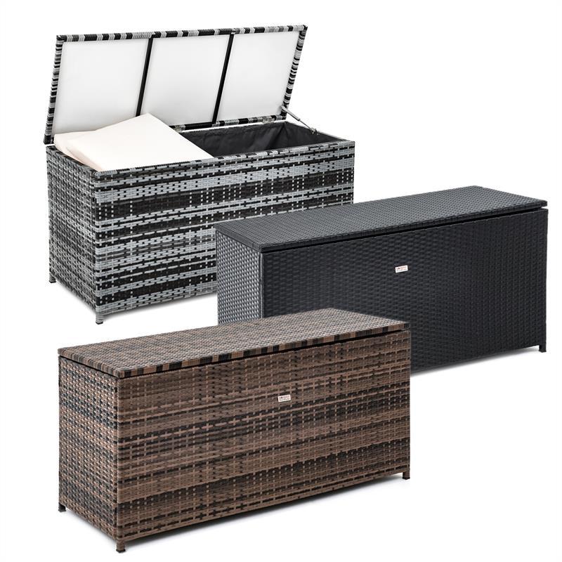 Hervorragend Polyrattan Auflagenbox 120 x 60 x 50 cm GC87