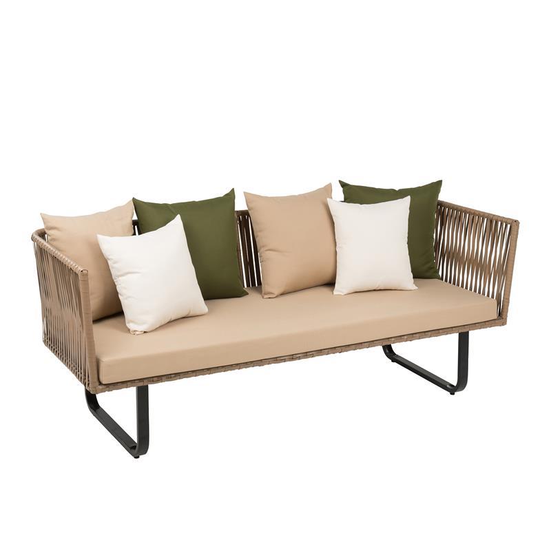 3 Sitzer Sofa Polyrattan